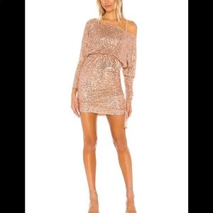 Free People Giselle Sequin Minidress Size L #55